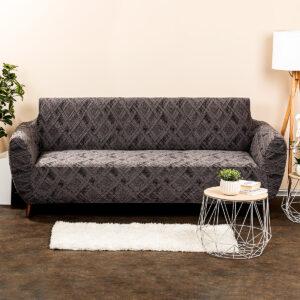 4Home Multielastický potah na sedačku Comfort Plus šedá